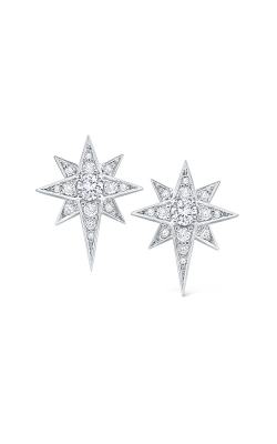 KC Designs 14K Gold and Diamond Starburst Earrings E9763 product image