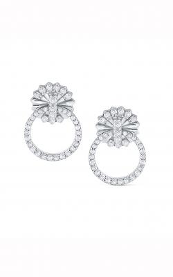 KC Design Open Circle Diamond Earrings E2437 product image