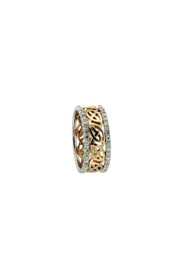 Keith Jack Gold Wedding Band  PRG5401-DIA-14k-WYW product image