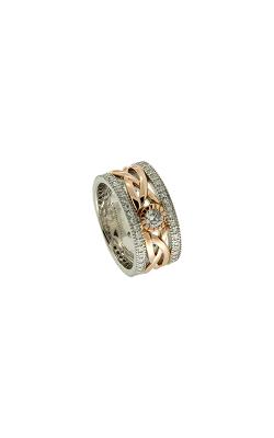 Keith Jack Gold Wedding Band  PRG8826-10k-WR-DIA/CZ product image