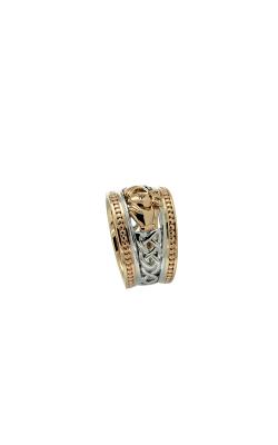 Keith Jack Claddagh Wedding Band PRG3645-10k-WYWW product image