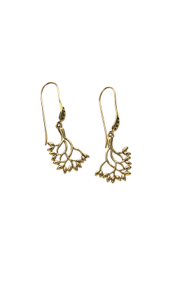 Keith Jack Gold Earrings PEG9003 product image