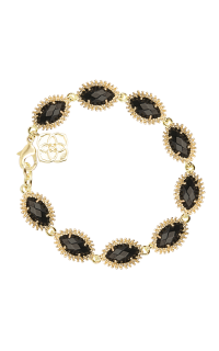 Kendra Scott Bracelets Jana Gold Black