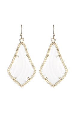 Kendra Scott Earrings Alex Gold White MOP product image