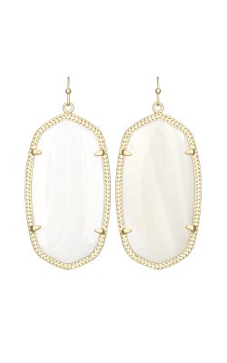 Kendra Scott Earrings Danielle Gold Whitemop product image