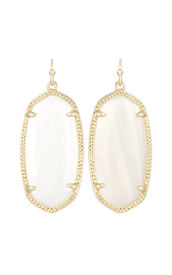 Kendra Scott Earrings Elle Gold Whitemop product image