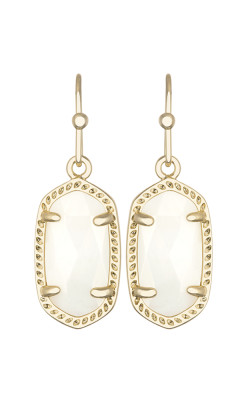 Kendra Scott Earrings Lee Gold Whitemop product image