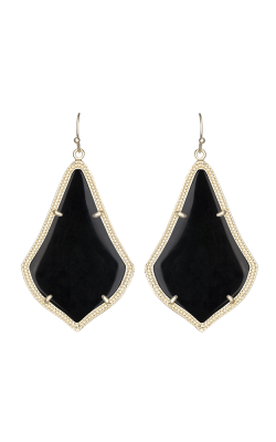 Kendra Scott Earrings Alexandra Gold Black product image