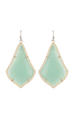 Kendra Scott Earrings Alexandra Gold Chalcedony product image