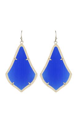 Kendra Scott Earrings Alexandra Gold Cobalt product image