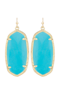 Kendra Scott Earrings Elle Gold Turquoise Magnesite product image
