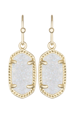 Kendra Scott Earrings Lee Gold Iridescent Drusy product image