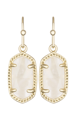 Kendra Scott Earrings Lee Gold Ivorymop product image