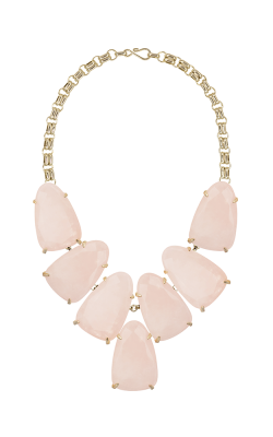 Kendra Scott Necklaces Harlow Gold Rose Quartz product image