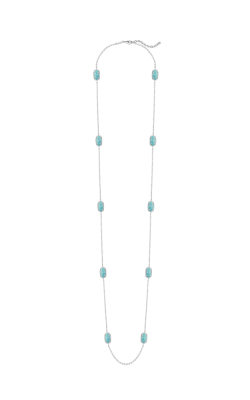 Kendra Scott Necklaces Kelli Rhodium Turquoise Magnesite product image