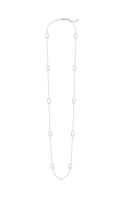 Kendra Scott Necklaces Kelli Rhodium Whitemop product image