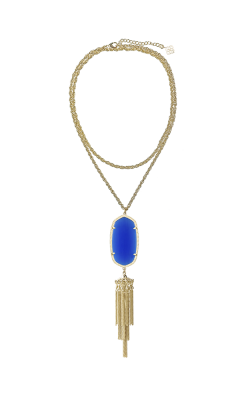 Kendra Scott Necklaces Rayne Gold Colbalt Catseye product image