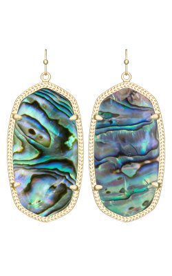 Kendra Scott Earrings Danielle Gold Abalone product image