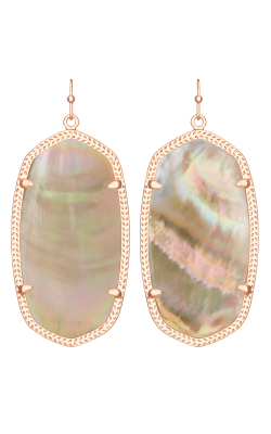 Kendra Scott Earrings Danielle Rose Gold Brownmop product image
