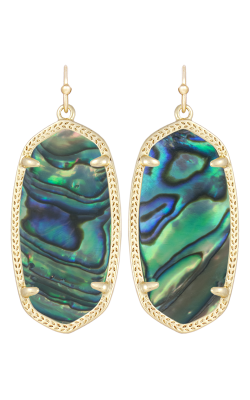 Kendra Scott Earrings Elle Gold Abalone product image