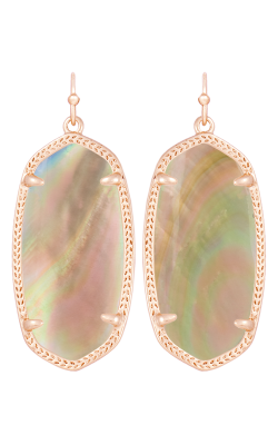 Kendra Scott Earrings Elle Rose Gold Brownmop product image