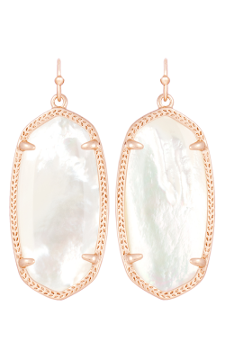 Kendra Scott Earrings Elle Rose Gold Ivory MOP product image