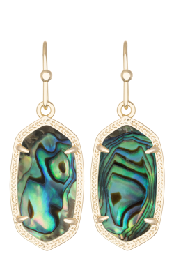 Kendra Scott Earrings Dani Gold Abalone product image