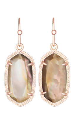 Kendra Scott Earrings Dani Rose Gold Brown product image