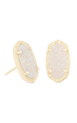 Kendra Scott Earrings Ellie Gold Iridescent Drusy product image