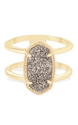 Kendra Scott Fashion Rings Elyse Gold Platinum Drusy product image
