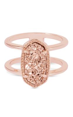 Kendra Scott Fashion Rings Elyse Rose Gold Drusy product image