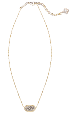 Kendra Scott Necklaces Elisa Gold Platinum Drusy product image