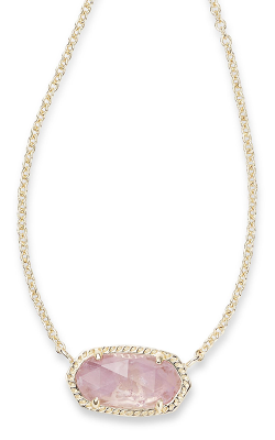 Kendra Scott Necklaces Elisa Gold Amethyst product image