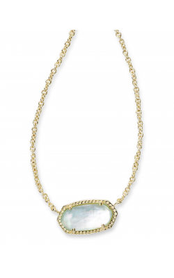 Kendra Scott Necklaces Elisa Gold Light Blue Illusion product image