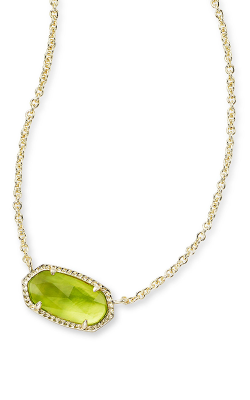 Kendra Scott Necklaces Elisa Gold Peridot Illusion product image