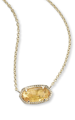 Kendra Scott Necklaces Elisa Gold Citrine product image