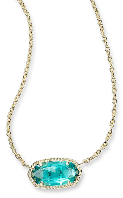 Kendra Scott Necklaces Elisa Gold London Blue product image