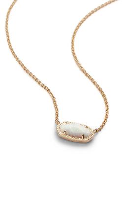 Kendra Scott Necklaces Elisa Gold White Kyocera Opal product image