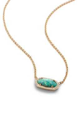 Kendra Scott Necklaces Elisa Gold Aqua Kyocera Opal product image