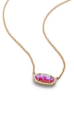 Kendra Scott Necklaces Elisa Gold Fuchsia Opal product image