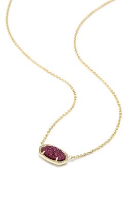 Kendra Scott Necklaces Elisa Gold Fuchsia Drusy product image