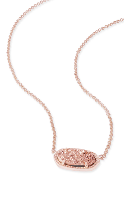 Kendra Scott Necklaces Elisa Rose Gold Drusy product image
