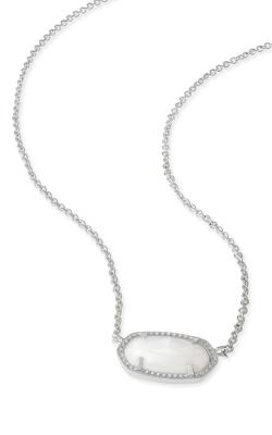 Kendra Scott Necklaces Elisa Rhodium White MOP product image