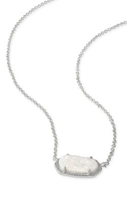 Kendra Scott Necklaces Elisa Rhodium Iridescent Drusy product image