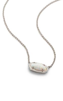 Kendra Scott Necklaces Elisa Rhodium Kyocera Opal product image