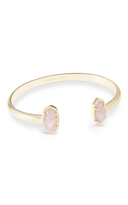 Kendra Scott Bracelets Elton Gold Rose Quartz product image