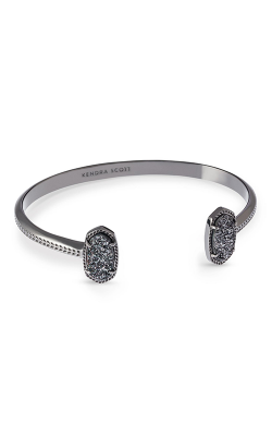 Kendra Scott Bracelets Elton Gunmetal Black Drusy product image