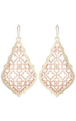 Kendra Scott Earrings Addie Rose Gold product image