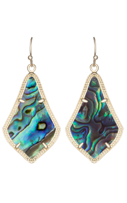 Kendra Scott Earrings Alex Gold Abalone Shell product image