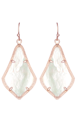 Kendra Scott Earrings Alex Rose Gold Ivory MOP product image